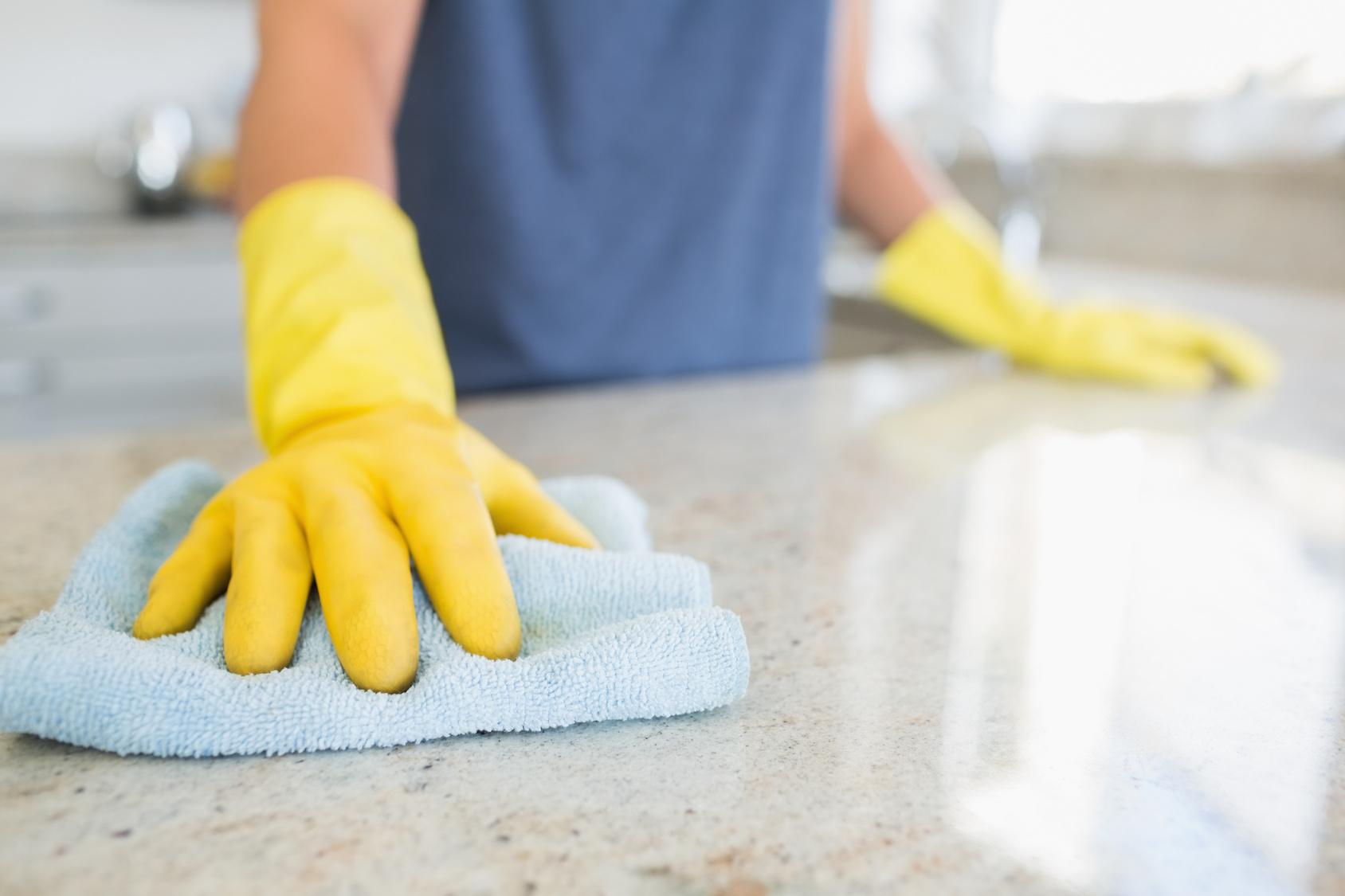 O poder da microfibra na limpeza