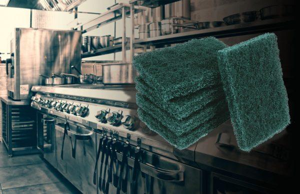 As vantagens da fibra para limpeza em cozinhas e restaurantes