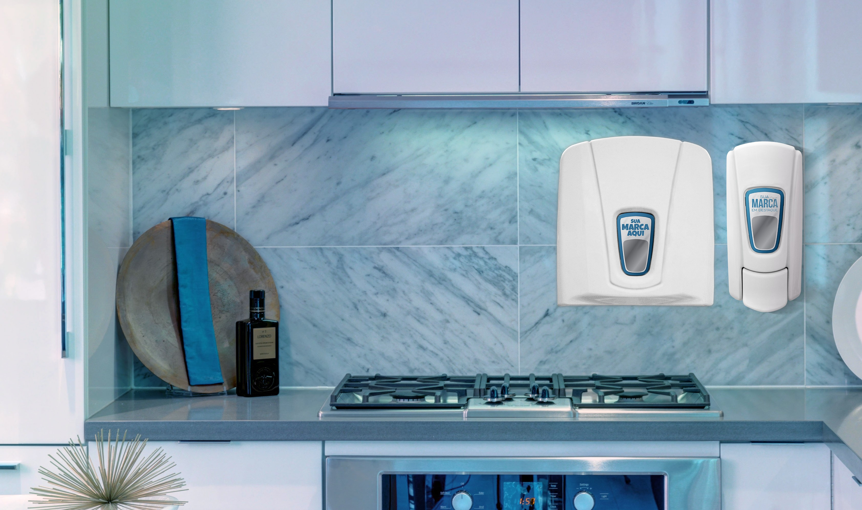 Divulgue sua marca com dispensers personalizados