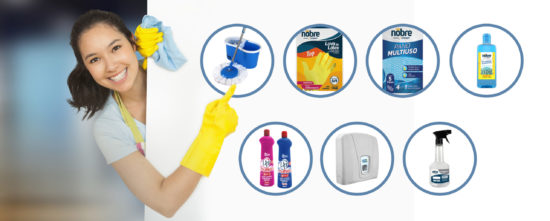Kit Nobre: os principais produtos de limpeza para sua casa