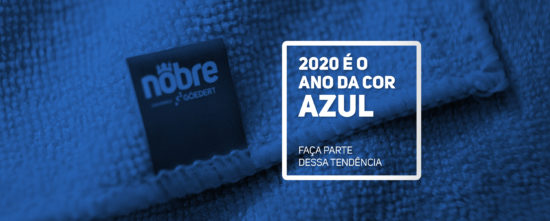 Azul: a cor do ano 2020