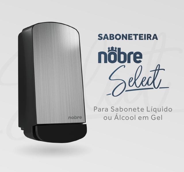 Banner topo mobile - Saboneteira Nobre Select