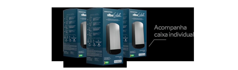 Saboneteira Nobre Select - Caixa individual
