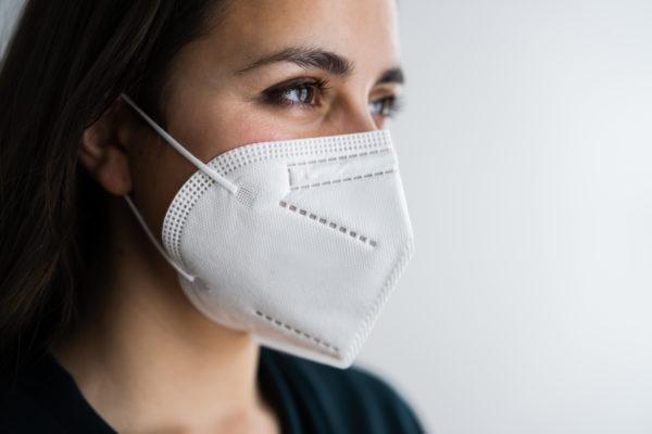máscara reutilizável N95