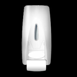 Saboneteira Branco Leitoso 800ml Nobre