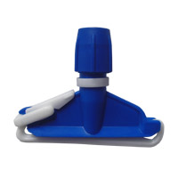 Suporte plástico s/cabo c/pinça p/mop úmido BRALIMPIA GE211Z plastica