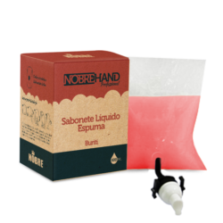 Sabonete Espuma Bag 600ml NOBRE HAND - Buriti